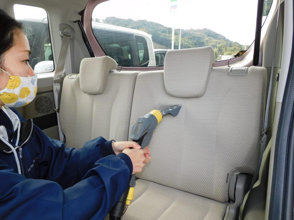 車内外チェック・クリーニング